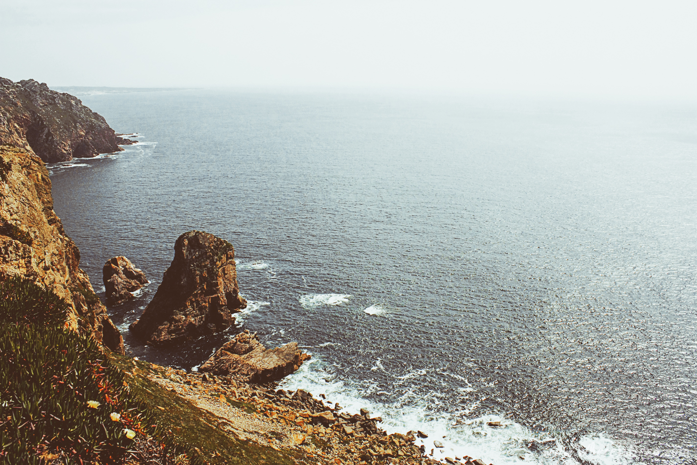 Where the land ends and the sea begins: Cabo da Roca