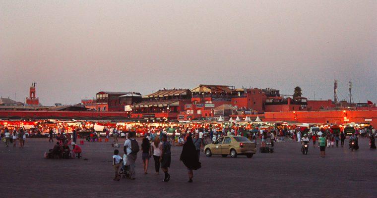 One night in Marrakech
