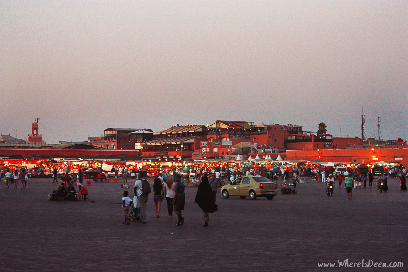 One night in Marrakech