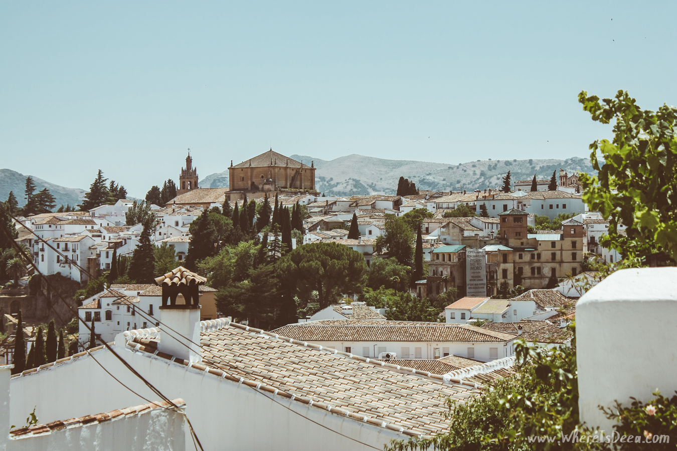 The white streets of Ronda