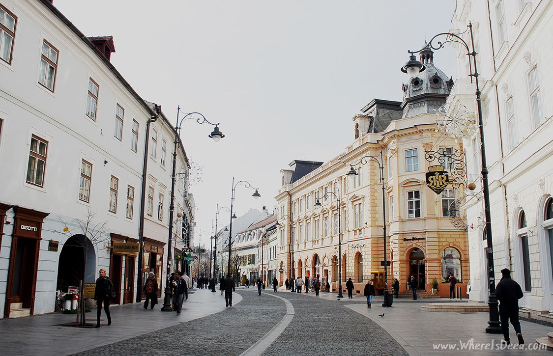 Wandering around Sibiu