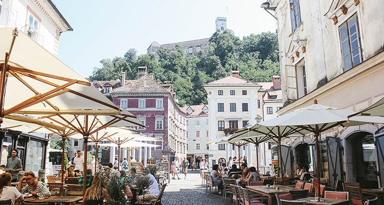 Ljubljana, the city with the most beautiful name