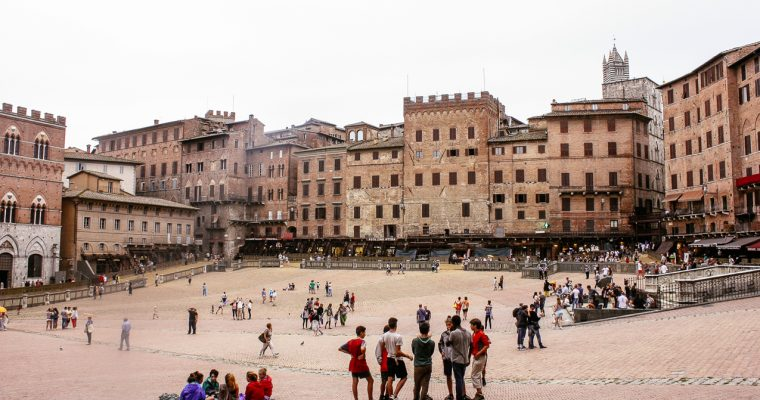 The alluring Tuscany and the fascinating Siena
