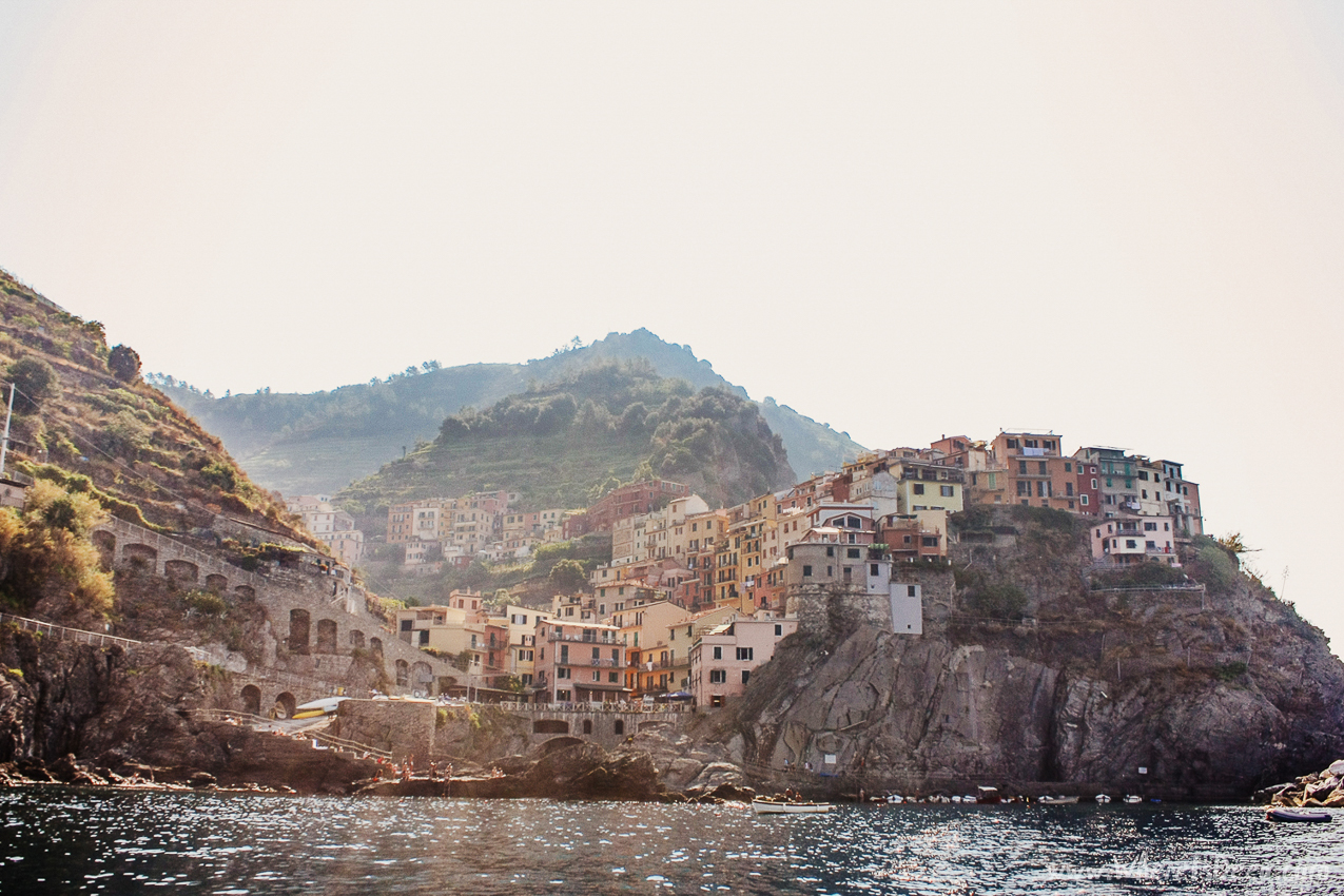 Best way to experience Cinque Terre: from the sea