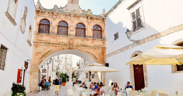 White towns that steal your heart: Ostuni