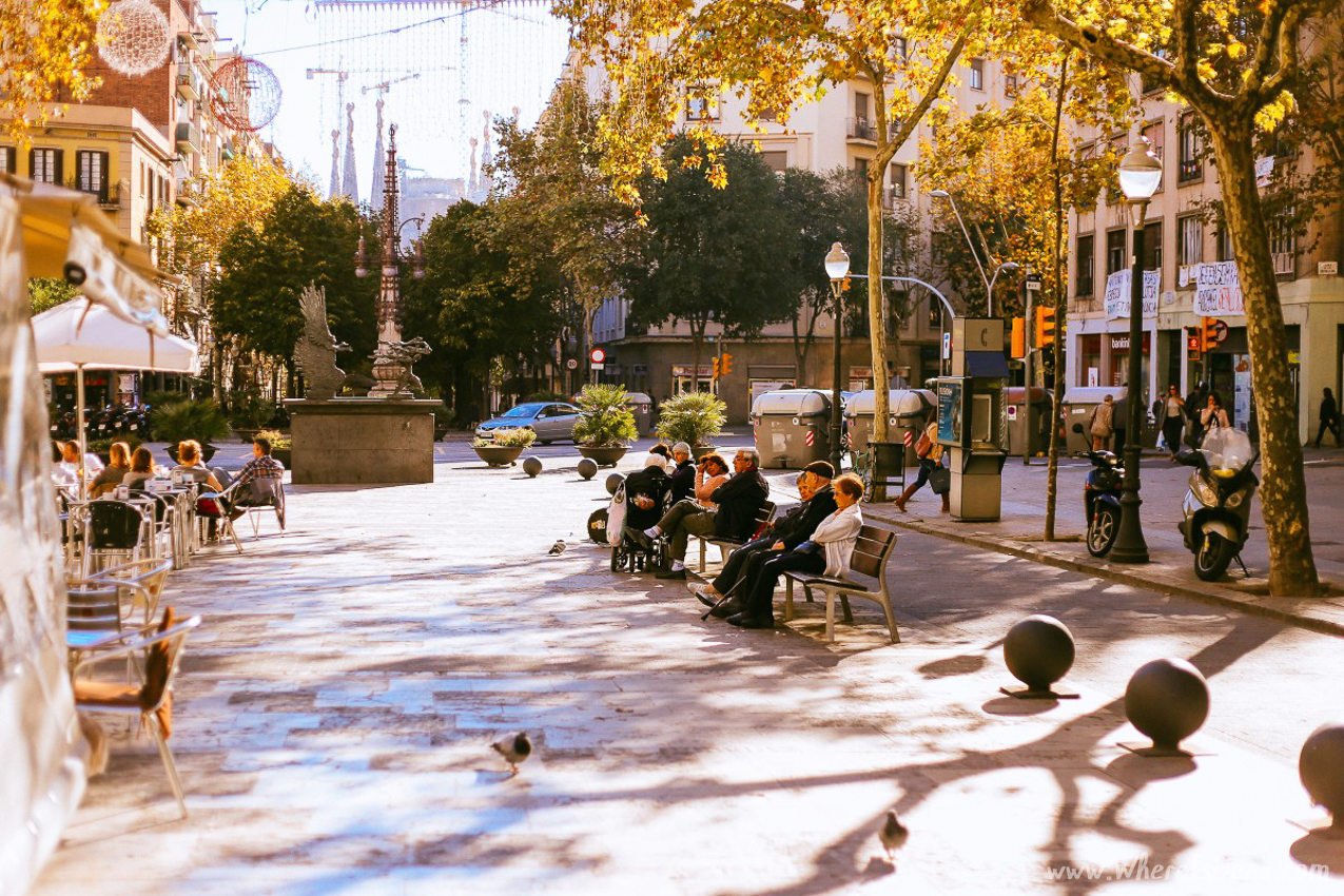 Barcelona through a 50mm lens