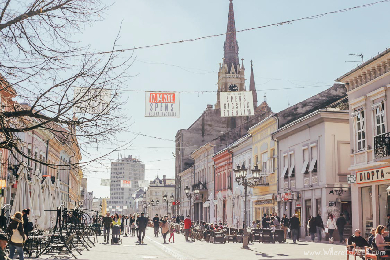Discover the jewels of Serbia: Novi Sad