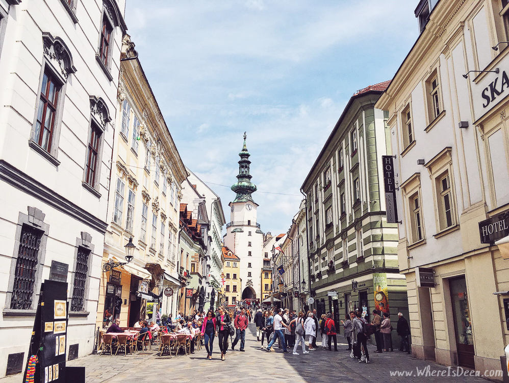 How to spend 2 hours in Bratislava
