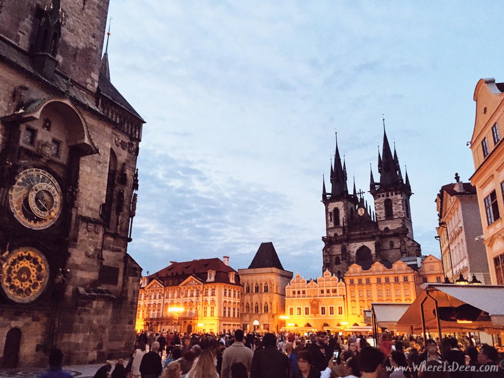 Prague: apple pie and cinnamon