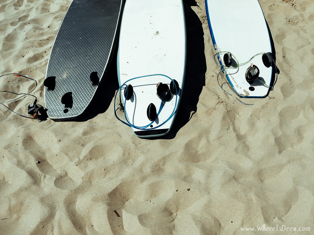 Sun, surf and pastel de nata = Lisbon