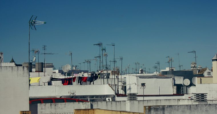 On the Rooftops of Sevilla