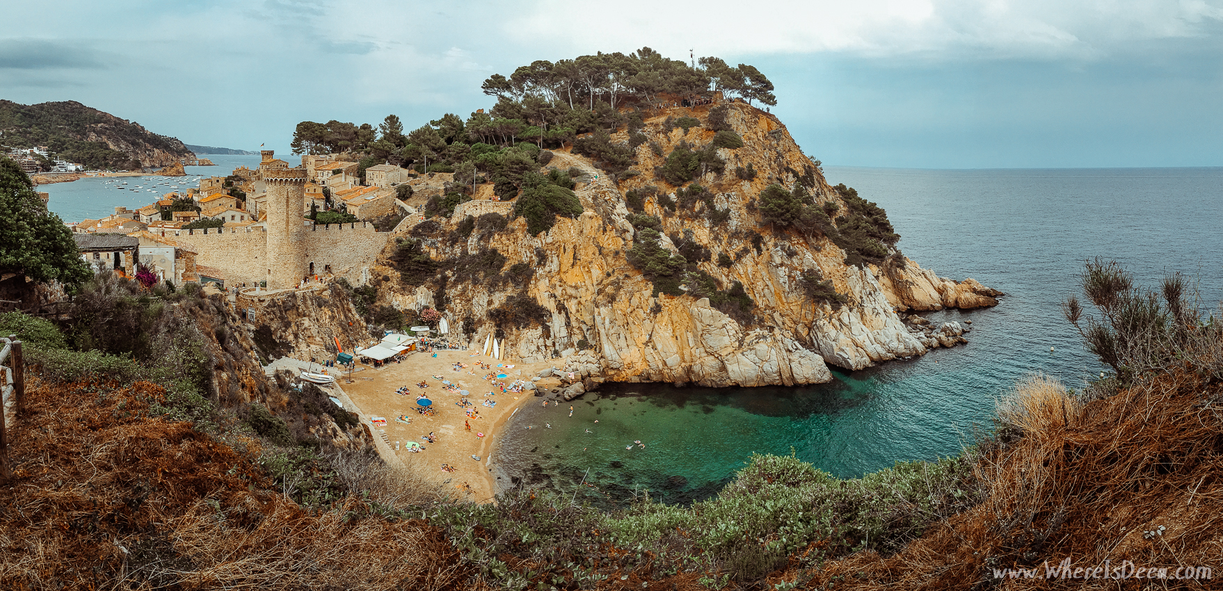 Discovering Costa Brava: Tossa de Mar