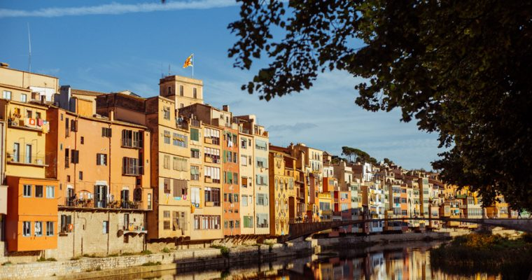 One day in colorful Girona