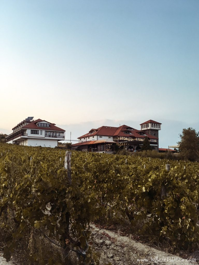 Popova Kula winery and hotel in Macedonia.