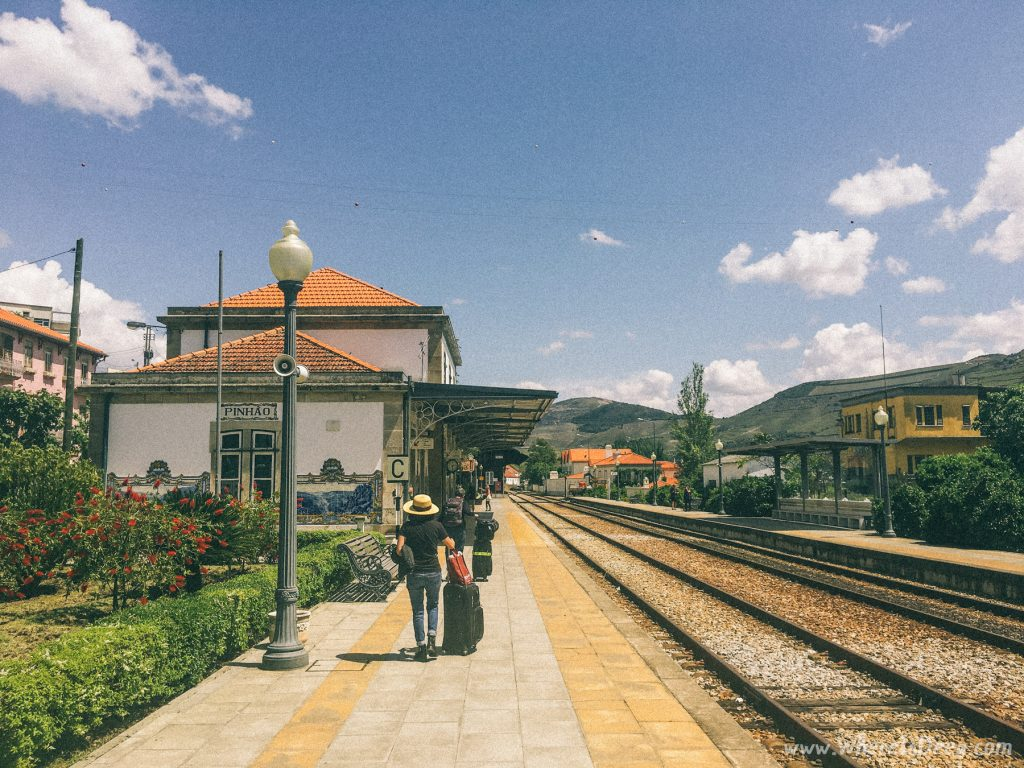 Pinhao train station in Douro Valley, Portugal.